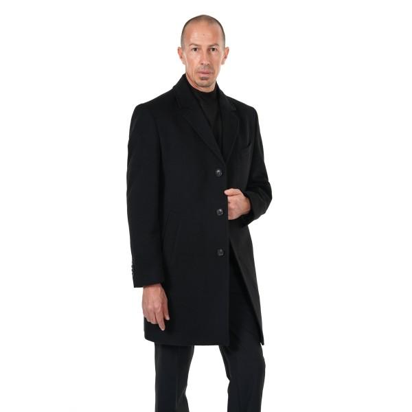 Мъжко палто вълна