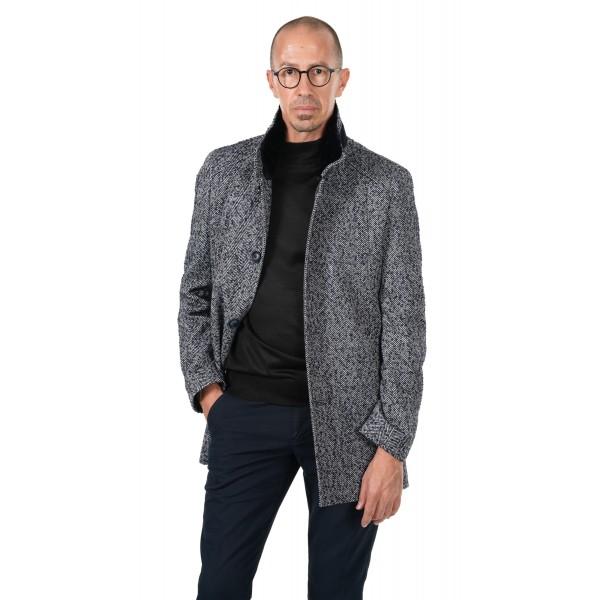 Mъжко палто вталено