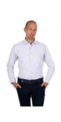 Вталена памучна риза